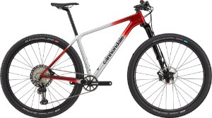 Bicicleta Cannondale F-SI Carbon 2 Tam XL 2021 Cinza e Vermelho