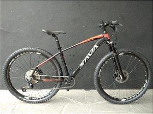 Bicicleta SAVA 29Er MTB Shimano SLX 1x12v Suspensão Air Tam. 17