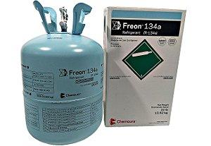 Botija Refrigerante Gás R134a 13.6kg Chemours Dupont