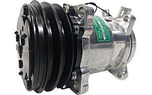 Compressor Ar Condicionado 5h14 6626 12v Polia 2a