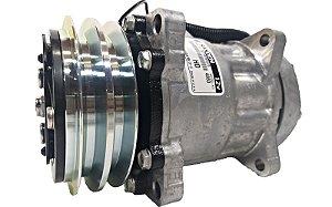 Compressor Sanden 7h15 12v Polia 2a Flex7 4860