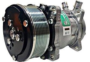 Compressor 5h14 Sanden 5312 12v Polia 8pk