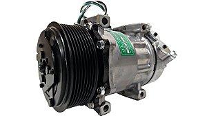 Compressor Ar Condicionado Scania 124 Modelo 7980 24v 8pk