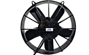 Eletro Ventilador Condensador Ar Condicionado Volare 12v ou 24v Soprante 11 Polegadas