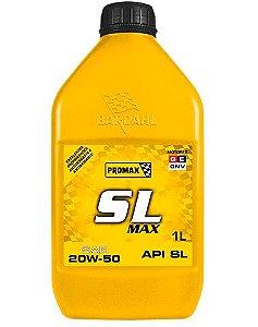 Óleo SL MAX 20W 50 INDICAÇÃO