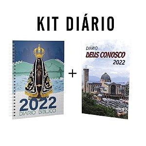Kit Diário Deus Conosco 2022 - Aparecida
