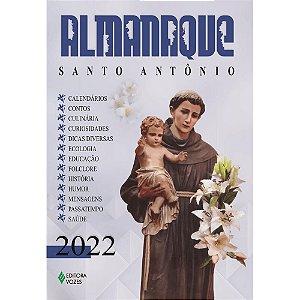 Livro Almanaque Santo Antônio 2022