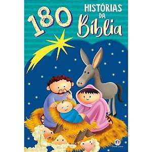 Livro 180 Histórias da Bíblia - Histórias para ler e sonhar
