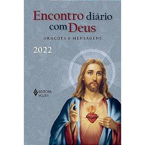 Livro Encontro diário com Deus - 2022