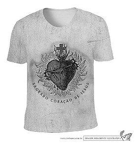 Camiseta Sagrado Coração De Jesus