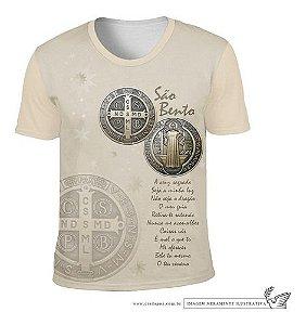 Camiseta Medalha São Bento