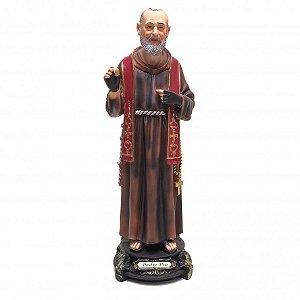 Imagem São Padre Pio 60 CM - Resina Importada