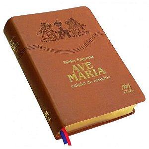 Bíblia Edição De Estudos - Ave Maria