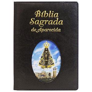 Bíblia Sagrada de Aparecida - Grande ilustrada - Preta