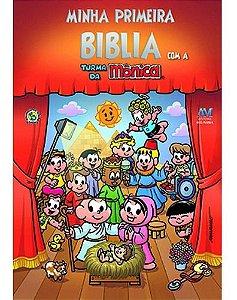 Minha Primeira Bíblia Com A Turma Da Mônica -Tamanho Pequeno