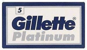Lâmina de Barbear Gillette Platinum