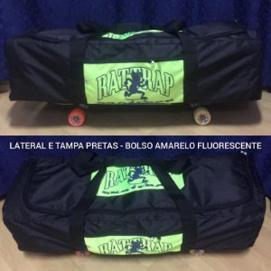 MALA PARA SKATE RATTRAP MOCHILA SKATE BAG PRETA