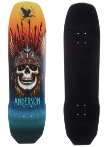 """SHAPE POWELL PERALTA FLIGHT ANDY ANDERSON 8,45"""""""