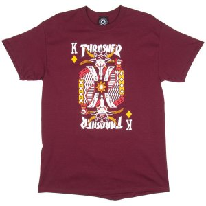 CAMISETA THRASHER KING OF DIAMONDS IMPORTADA VINHO P