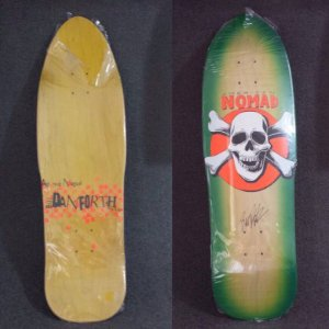 SHAPE OLD SCHOOL AMERICAN NOMAD BILL DANFORTH SKULL VERDE ASSINADO