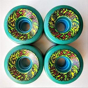 Roda Santa Cruz Slime Balls OG 66mm 78A Verde