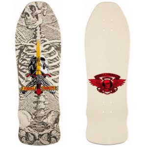 Shape Old School Powell Peralta Skull and Sword GeeGah Branco