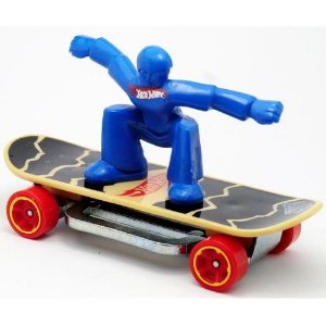 Hot Wheels 2013 Skate Punk Azul