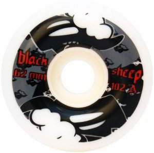 RODAS DE SKATE BLACK SHEEP V7 62MM 102A IMPORTADA