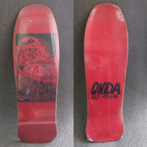 Shape Onda Skateboards Nacional Original de época