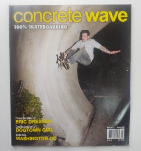 Concrete Wave Volume 3 number 5 ano 2005 Capa Eric Dressen