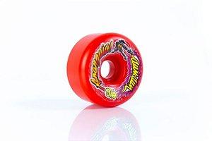 Rodas de Skate Anarquia Dum Dum Vermelha 60mm 97A NACIONAL