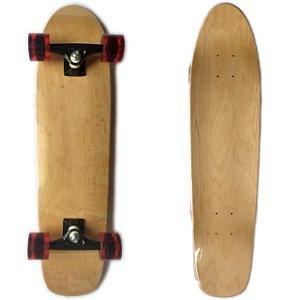 Skate Cruiser Completo Liso Importado Maple