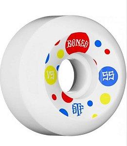 Rodas de Skate Bones STF Dots 55mm v5