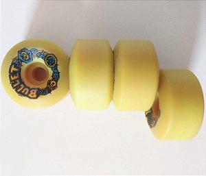 Roda de Skate Old School Santa Cruz Bullet 63mm 92A original de época NOVA