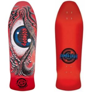 Shape Old School Santa Cruz Rob Roskopp Eye Ressue Vermelho