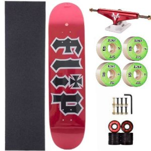 Skate completo com shape de Maple Flip