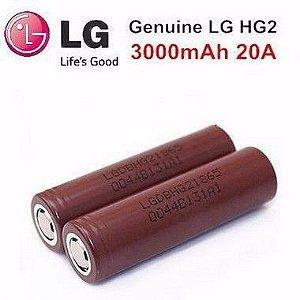 Atacado Bateria LG HG2 - 20A - 3000Mah Original - 10 Unidades