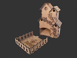Torre de dados - Casa de Pássaros