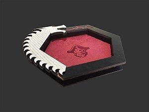 Bandeja de Dados Dragão Black Premium
