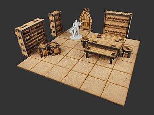 Kit de Mobílias para Cenário de RPG