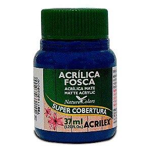 Tinta Acrílica Fosca Acrilex 37ml - Azul Turquesa 501