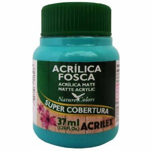 Tinta Acrílica Fosca Acrilex 37ml - Turquesa 577
