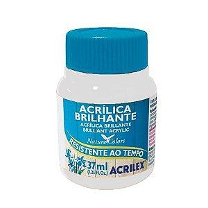 Tinta Acrílica Brilhante Acrilex 37ml - Branco 519