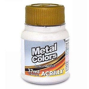 Tinta Acrílica Metálica Acrilex 37ml - Branco 562