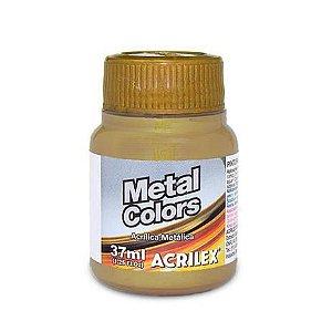 Tinta Acrílica Metálica Acrilex 37ml - Bronze 556