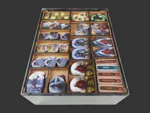 Organizador (insert) para Gloomhaven: Jaws of the Lion