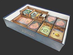 Organizador (insert) para As Ruínas Perdidas de Arnak