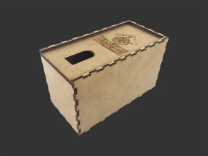Card box (organizador portátil de card games)