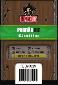 Shield Perfect Size / Ultra Fit para Magic e Pokemon - Bucaneiros