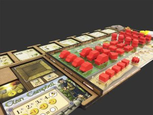 Kit Dashboard para Clans of Caledonia (4 unidades)